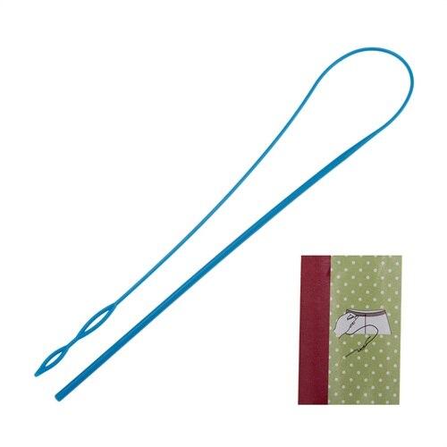 1 шт.-супермолния для винторезный станок пластиковые аксессуары для шитья одежды шорты с эластичным поясом и Портативный носить Веревка Инс...