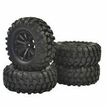 цена на RC 1:10 Off-Road Car Beach Rock Crawler Tire Wheel Rim Crawlr 108mm 1.9