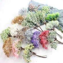 1 шт./имитация растений зеленый лист имитация сухих веток реквизит для свадебной фотосъемки украшение дома