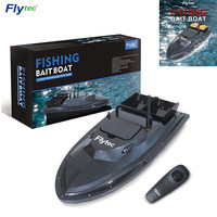 Flytec V007 RC Boat Fishing Boat Outdoor Fixed Speed Ship Strong Wind Resistance with LED Boat Searchlight VS Flytec 2011 5 Boat