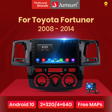 Junsun V1 pro 2G + 128G Android 10 Für Toyota Fortuner Hilux AN50 AN60 Revo Vigo 2008 - 2014 auto Radio Multimedia Video Player dvd