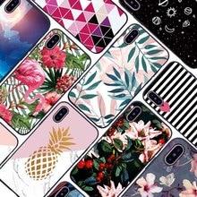 Phone Case For Xiaomi mi 9 Lite SE Soft TPU Silicone Cover Flowers Sky Marble Flamingo Funda Coque Cases