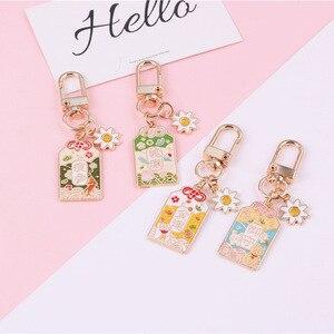 Amuleto de cultura japonesa talismán buenos deseos bendición llavero portátil suerte adorno de fortuna mujeres Metal bolsa de coche baratijas