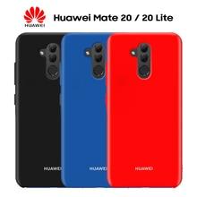 Original Huawei Mate 20 Lite Case Pro 20X X Soft Liquid Silicone Back Cover P Smart Z Plus 2019 Shockproof