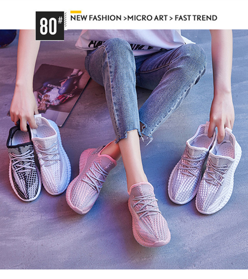 Mesh women casual shoes flat lightweight Lace Up Women Vulcanize Shoes 2019 Breathable walking Spring Summer sneakers VT256 (1)