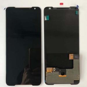 """Image 5 - Originele Nieuwe Voor 6.59 """"Asus Rog Telefoon 2 Phone2 Phoneⅱ ZS660KL Amoled Lcd scherm + Touch Panel Digitizer montage Reparaties"""
