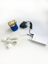HIDAKA WLD 807 (DN15*1 adet) ab/abd kullanımı profesyonel 6M kablo BSP NPT vana akıllı ev su kaçak dedektörü sensörü koruma