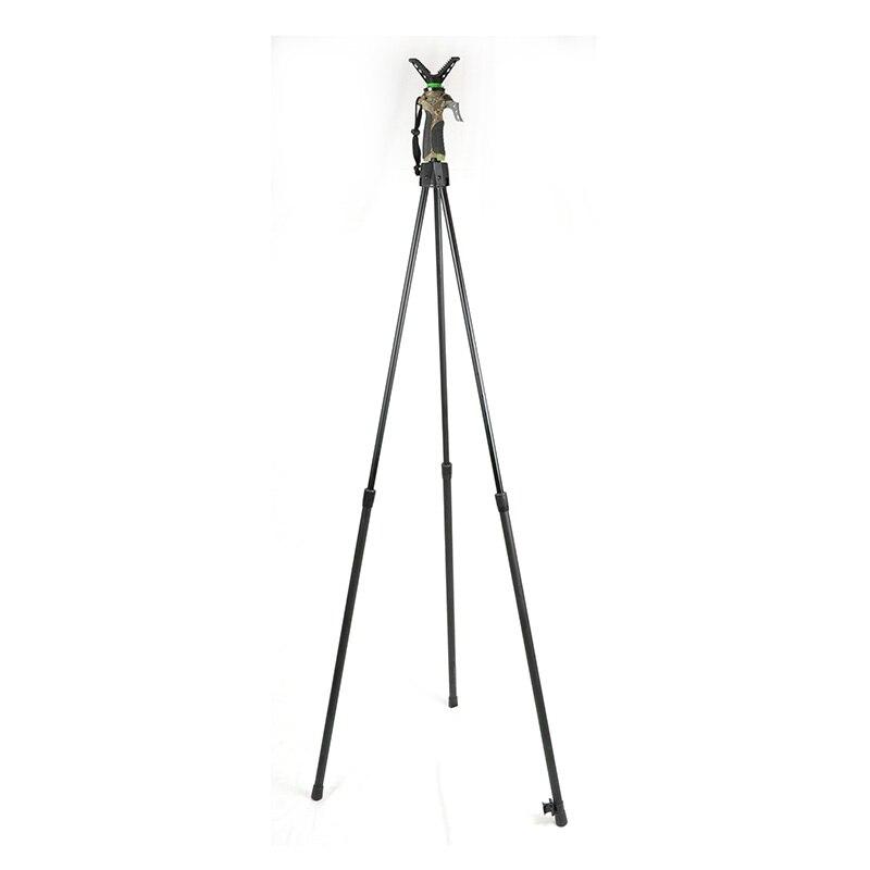 Одна ручка Управление с регулировкой по высоте, V образный вращающийся хомут запуска штатив Телескопический съемки Stick профессиональное Ох...