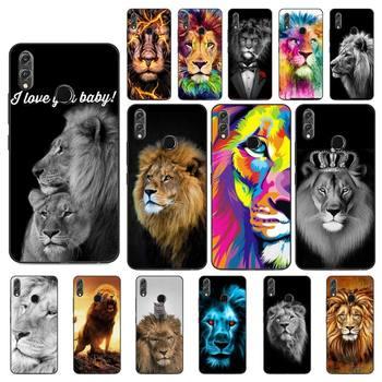 YNDFCNB animal Lion Alpha para hombre encantador diseño teléfono caso para Huawei...