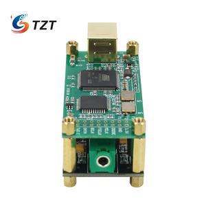 Image 4 - Amanero 인터페이스 + ES9038Q2M 오디오 디코더 보드 용 TZT 오디오 HiFi USB 사운드 카드 지원 DSD256 PCM 384Khz