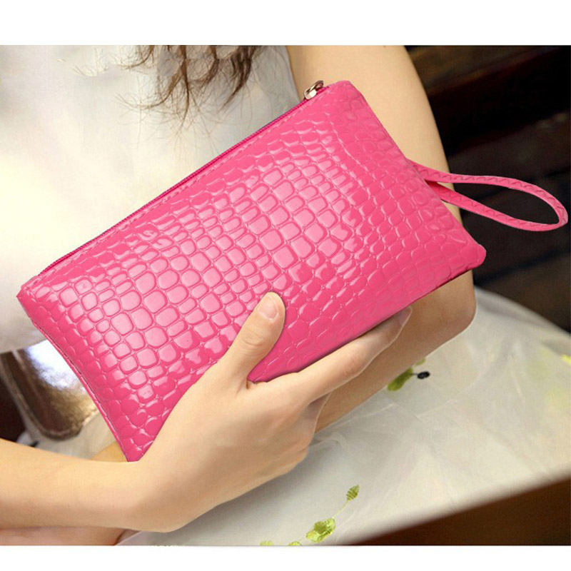 New Make Up Bag Women Toiletry Bag Portable Small Cell Phone Pocket Travel Organizer Waterproof Zipper Cosmetic Bags