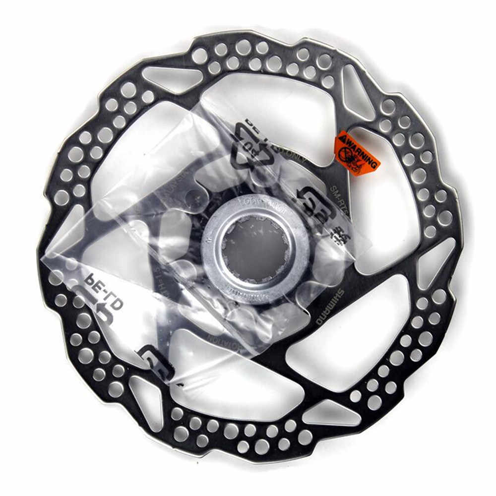 New Shimano 180mm Centerlock Disc Brake Rotor with Lock Ring SM-RT10 Center Lock