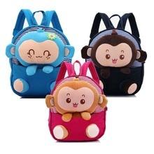 School Bag 3D Cartoon Children Plush Toy Baby Anmial Backpack Boy Girl Bags Gift For Kids Backpacks