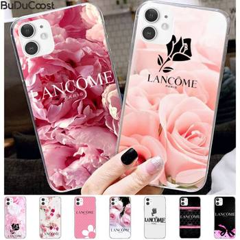 French cosmetics Lancome Coque Shell Phone Case For iphone 11 Pro11 Pro Max X 8 7 6 6S Plus 5 5S SE cass image