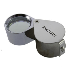 Mini 30X Glass Magnifying Magn