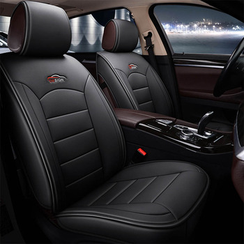 Quality Universal Leather Car Seat Covers for Ford focus 2 3 mk2 mk3 fiesta mk7 fusion kuga Auto Interior Protector Accessories