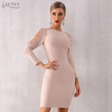 Sleeve Club Dress Bandage