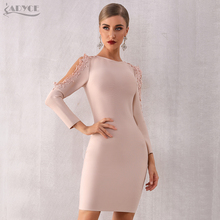 Lace Sleeve New Bodycon