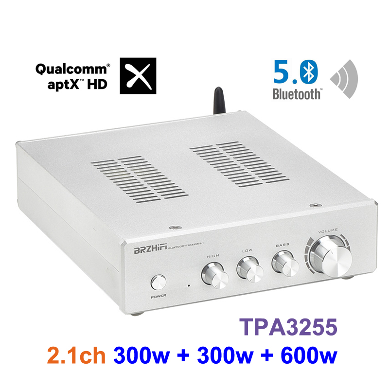 Двухъядерный усилитель мощности TPA3255 Bluetooth 2,1 канальный Bluetooth 5,0 усилитель мощности сабвуфера