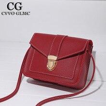 Cvvo Glmc  Fashion Simple Small Square Bag Women's Designer Handbag 2021 High-quality PU Leather Mobile Phone Shoulder bags