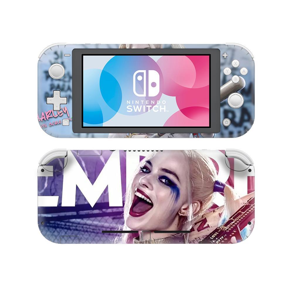 Harley Quinn Joker NintendoSwitch Skin Sticker Cover For Nintendo Switch Lite Console Protector Nintend Switch Lite Skin Sticker