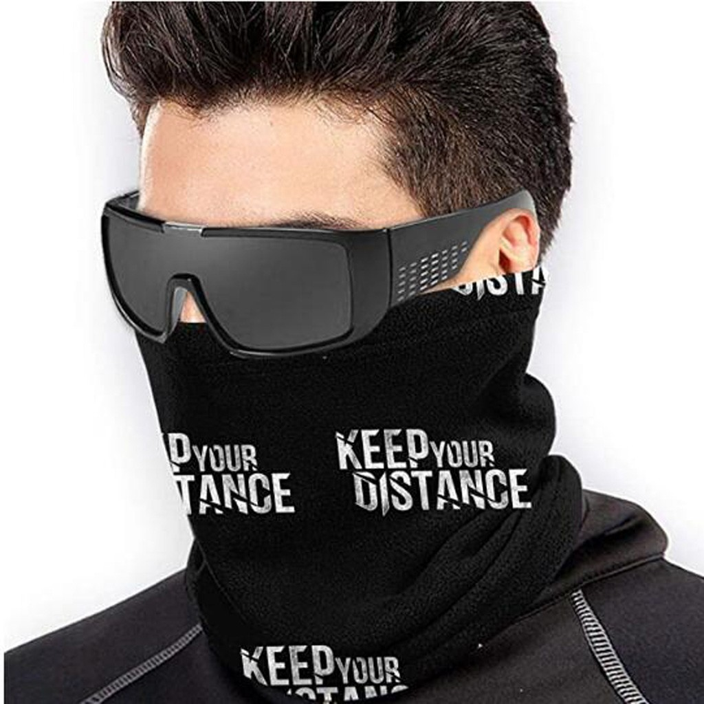 3D Printing Motorcycle Mask Balaclava Outdoor Turban Neck Windproof Sun Protection Dust Mask Sports Safety Face Mask Moto Scarf