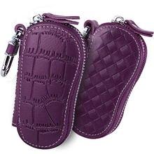 Женский кошелек для ключей из натуральной кожи автомобильная