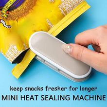 Portable Mini Sealing Machine Food Storage Plastic Bag Handheld Heat Sealer Reusable(China)