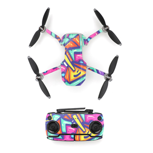 Image 5 - Protective Film PVC Sticker for DJI Mavic Mini Drone Body Arm Waterproof Scratch proof Decals Shell Cover Colorful Skin