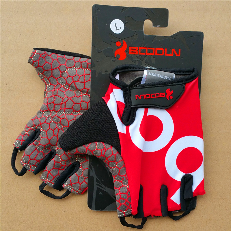 Drop Ship Men Bike Bicycle Glove Outdoor Cycling Sports Breathable Gloves Women MTB Bike Half Finger Sponge Pad Gloves Black XL