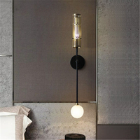 Nordic Industrie Nacht Wand Licht Kreative Design Spiegel Scheinwerfer Gang Parlor Schlafzimmer Doppel Kopf Wand Leuchte-in LED-Innenwandleuchten aus Licht & Beleuchtung bei