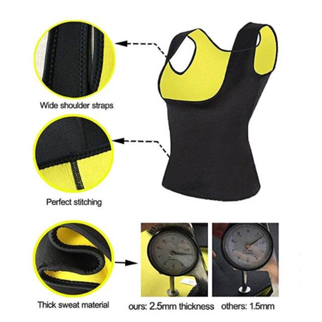 CAIDA Women Thermo Sweat Neoprene Body Shaper Slimming Waist Trainer Cincher Slimming Wraps Product Weight Loss Slimming Belt 2