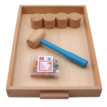 Baby Toy Montessori Daily Life Beating Nails Educational Early Childhood Education Preschool Life Skill Training Kids Toy Gift