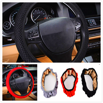 summer car auto Steering wheel Cover Anti-Slip net Breathable Auto for BMW 335is Scooter Gran 760Li 320d 135i E60 E36 F30 image