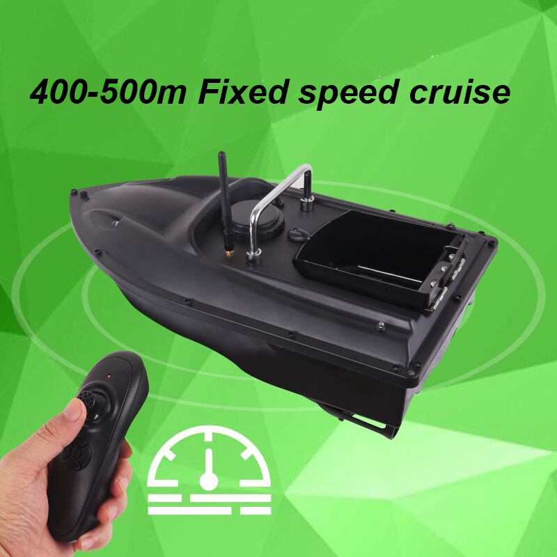 500m RC Distacne Auto RC Remote Control Fishing Bait Boat Speedboat Fish Finder Ship Boat With EU charger US/UK Charger 3 hours