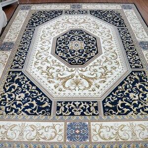 Europejski dywan perski do salonu sypialnia antypoślizgowa mata podłogowa klasyczna moda kuchnia Retro dywan w stylu chińskim dywan