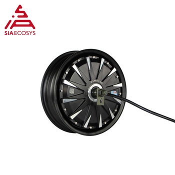 QS Motor 12inch 2000W 260 V1.12 60kph hot sale BLDC motor brushless and gearless in wheel hub motor for ectric scooter image