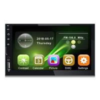 2 Din Car Multimedia Player Car Radio Bluetooth Mirror link HD Press Radio Mp5 Player Usb AUX Audio Stereo 7080