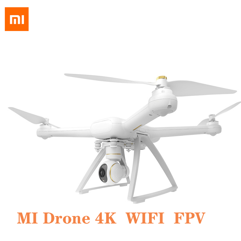 Original XIAOMI Mi Drone HD 4K WIFI FPV 5GHz Quadcopter 6 Axis Gyro 3840 X 2160p/30fps RC Quadcopters Pointing Flight 4k Drone