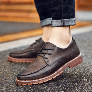 Image 5 - New British Style Casual Brogues Shoes Lazy Sets Breathable Driving Men Oxfords Fashion Brand Dress Shoes Man Male Adult Loafers
