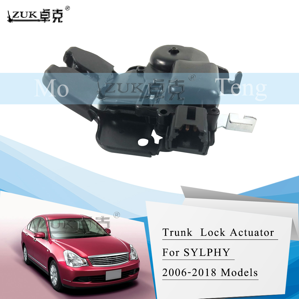 Part Number 8E5962115B A2 8Z A4 B6 Boot Trunk Release Tailgate Lock Boot Lid Solenoid Servo Motor