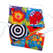 Toys Cloth-Book Baby 0-12-Months Bed-Bumper Rattles Crib Knowledge Around Multi-Touch