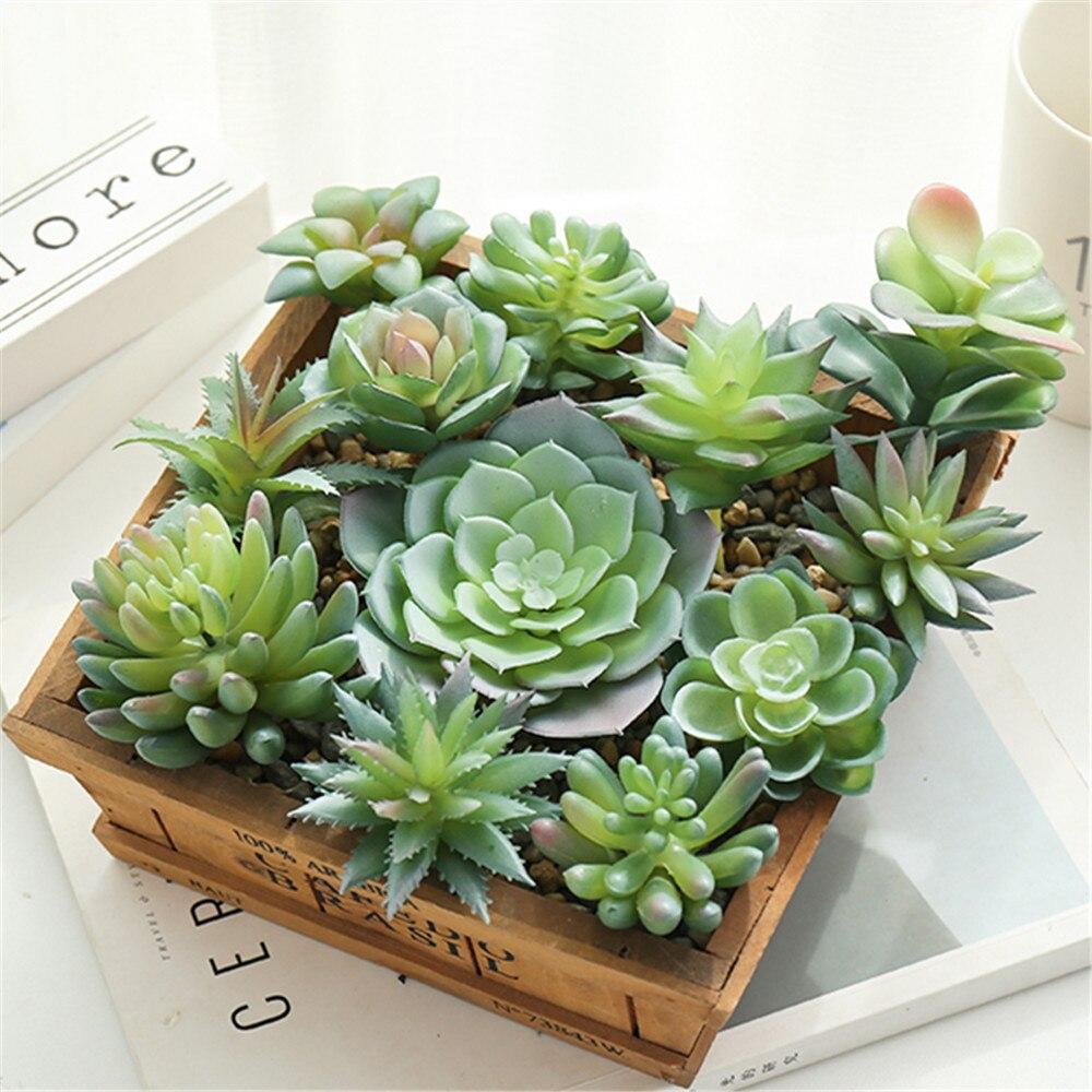 מלאכותי בשרניים צמחים נוהרים זול DIY PVC חתונת גן קישוט פרח אביזרים לבית מקורה קישוט מתנה