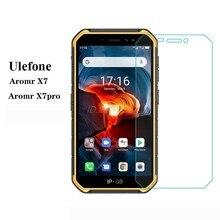 3-1 peças de vidro para ulefone armor x7 pro protetor de vidro de proteção 9d vidro temperado em cristal ulefone armadura x7 pelicula de vidro