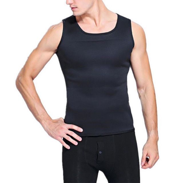 3XL Slimming Belts Belly Men Slim Vest Body Shaper Neoprene Abdomen Fat Burning Shaperwear Waist Sweat Corset Weight 2