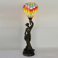 Manufacturers selling 7 inch tiffany lamp of liberty balloon bedroom berth lamp sitting room glass lamp