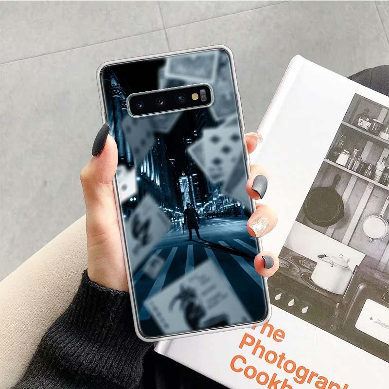 Batman Joker Dark Black Knight Case For Samsung Galaxy S20 Ultra Note 10 9 8 S10E S9 S8 J4 J6 J8 Plus + Pro S7 S6 Soft Phone Coq