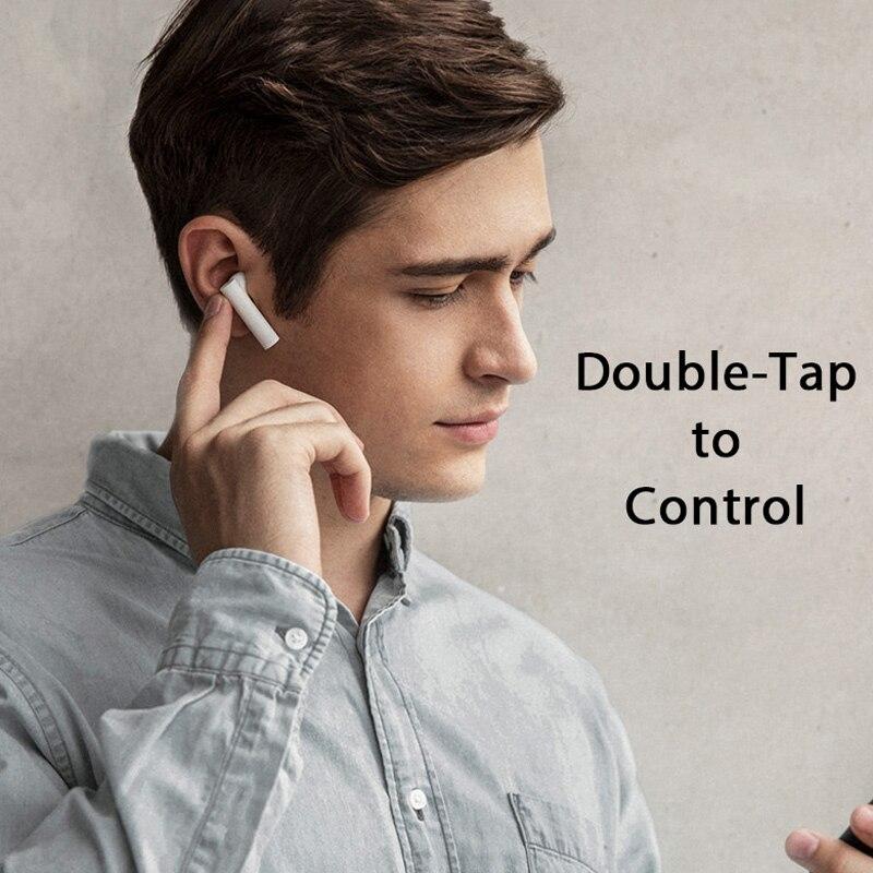 Original Xiaomi Air 2 TWS Airdots Pro 2 Mi Air 1 vrai sans fil écouteurs ENC Bluetooth 5 robinet contrôle vocal LHDC dynamique - 4