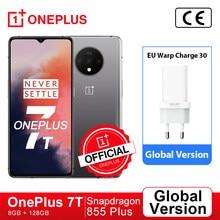 Versão global oneplus 7 t 7 t snapdragon 855 plus smartphone octa core 6.55 90 90 90hz tela amoled 48mp triplo cam warp carga 30t; For Brazail new buyer: 1PLUS($20-12)