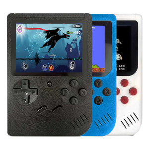 Portable Video Classical Game Console With 400 Games Built-In 3 Inch Color Screen Mini Game 2 Players AV Output